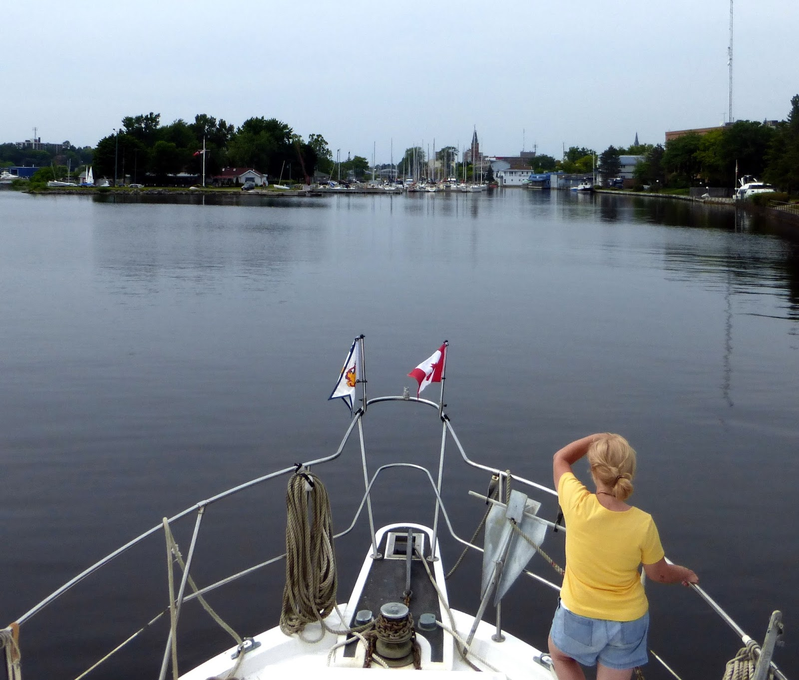 Catch Our Lines Bay Of Quinte Yacht Club