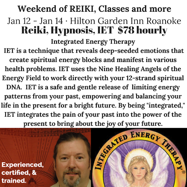 Weekend of Reiki and Much More