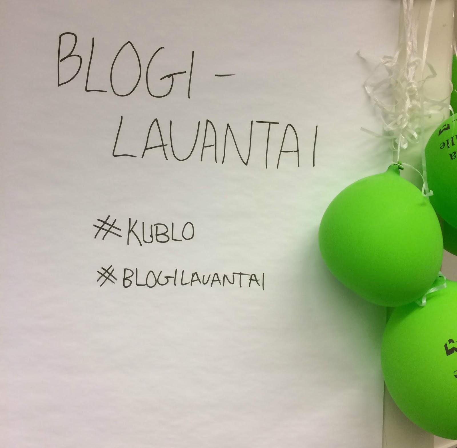 Terveisiä Blogilauantaista! Viisi ajatusta bloggaamisesta -blogihaaste