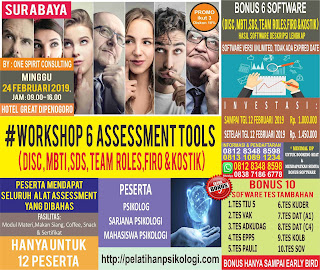 Workshop Alat Tes Psikologi 2019