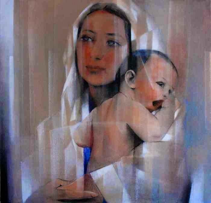 Современная испанская художница. Monica Ozamiz Fortis