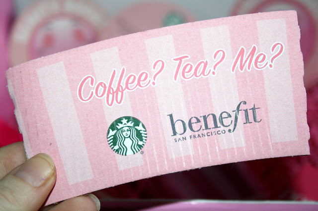Benefit and Starbucks February Collaboration