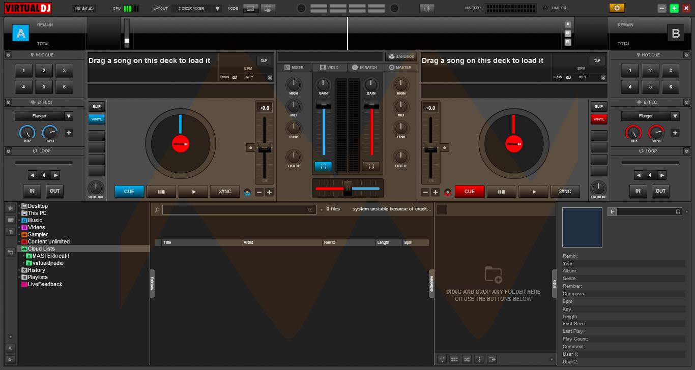 Virtual DJ Pro Infinity 8 Full Crack