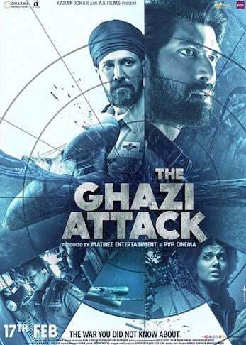 The Ghazi Attack 2017 Hindi 350MB pDVD 480p