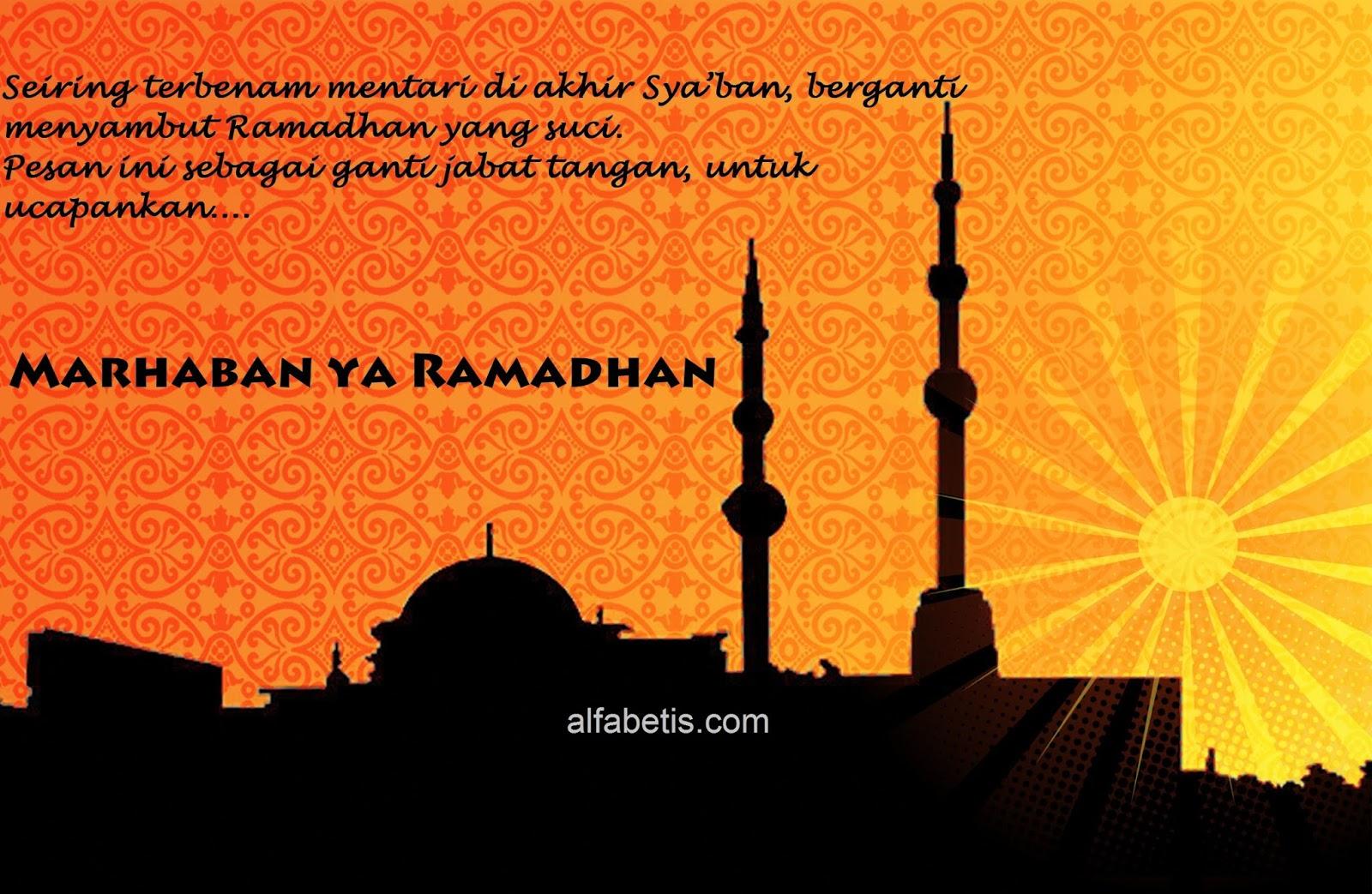 Kartu Ucapan Marhaban Ya Ramadhan Terbaru