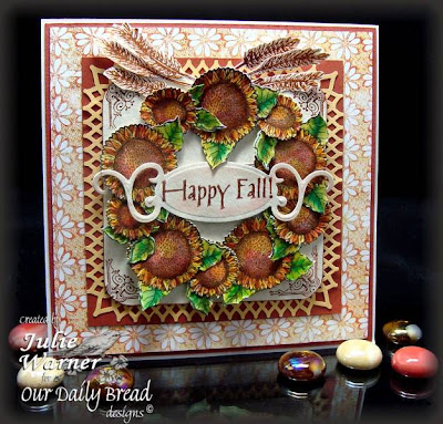 Our Daily Bread designs Happy Fall Designer Julie Warner