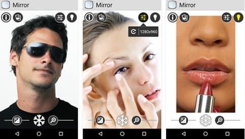 Merubah Android Menjadi Kaca Cermin