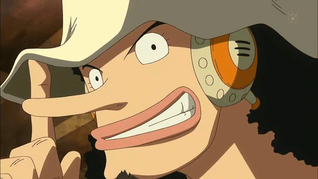 Usopp adalah seorang sniper atau penembak jitu