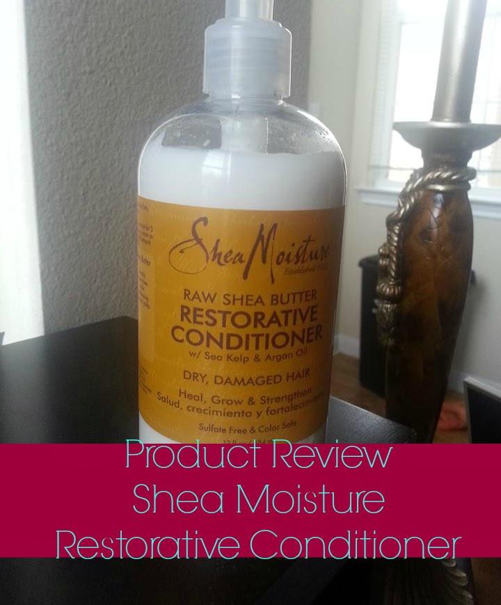 PRODUCT REVIEW - Shea Moisture Restorative Conditioner