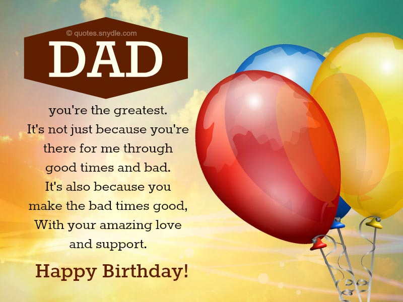 15 happy birthday wishes for father from daughter quotes with messages ...