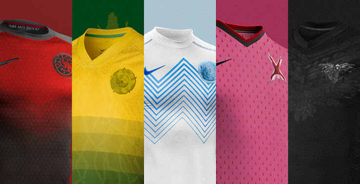 Game Of Thrones Football Kits By Nerea Palacios Footy