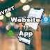 Convert Website to Android Application using Android Studio without Coding