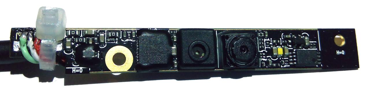 installation de caméra hp USB