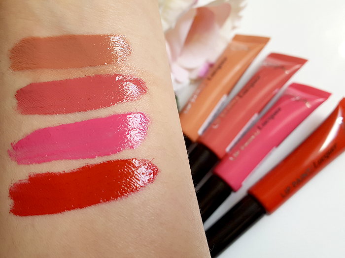Swatches: L´Oréal Paris - Infaillible Lip Paint Laquer - je 7.95 Euro