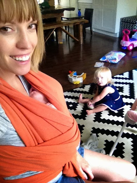 wrap carrier, baby carrier, baby wrap, wear your baby, three kids under four, baby wearing