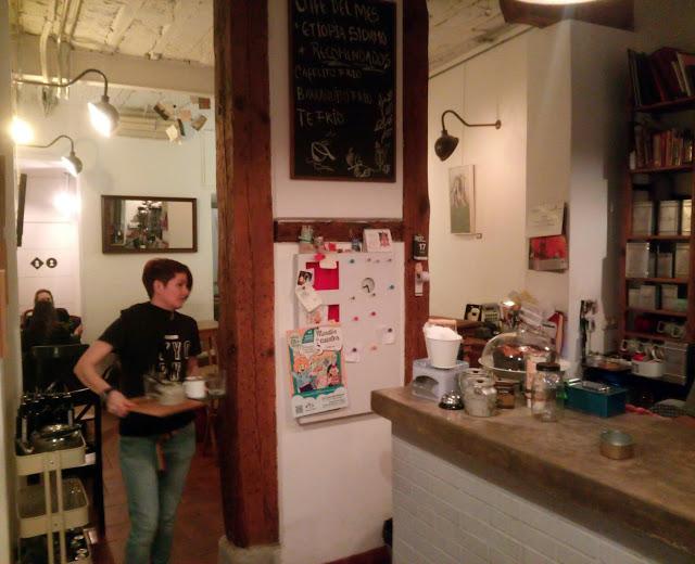 Cafelito, Lavapies - Tusolovive Madrid