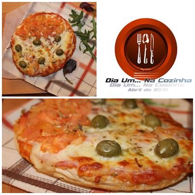 Pizza de Fiambre e Paio York