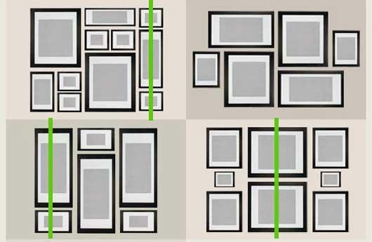 Garis Vertikal Membantu Anda Menciptakan Susunan Bingkai Foto Pada Dinding Terlihat Cantik Seperti Video Yang Saya Upload Di Atas