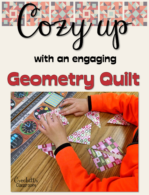 Cozy up with this engaging activity that helps your students  review geometry concepts.