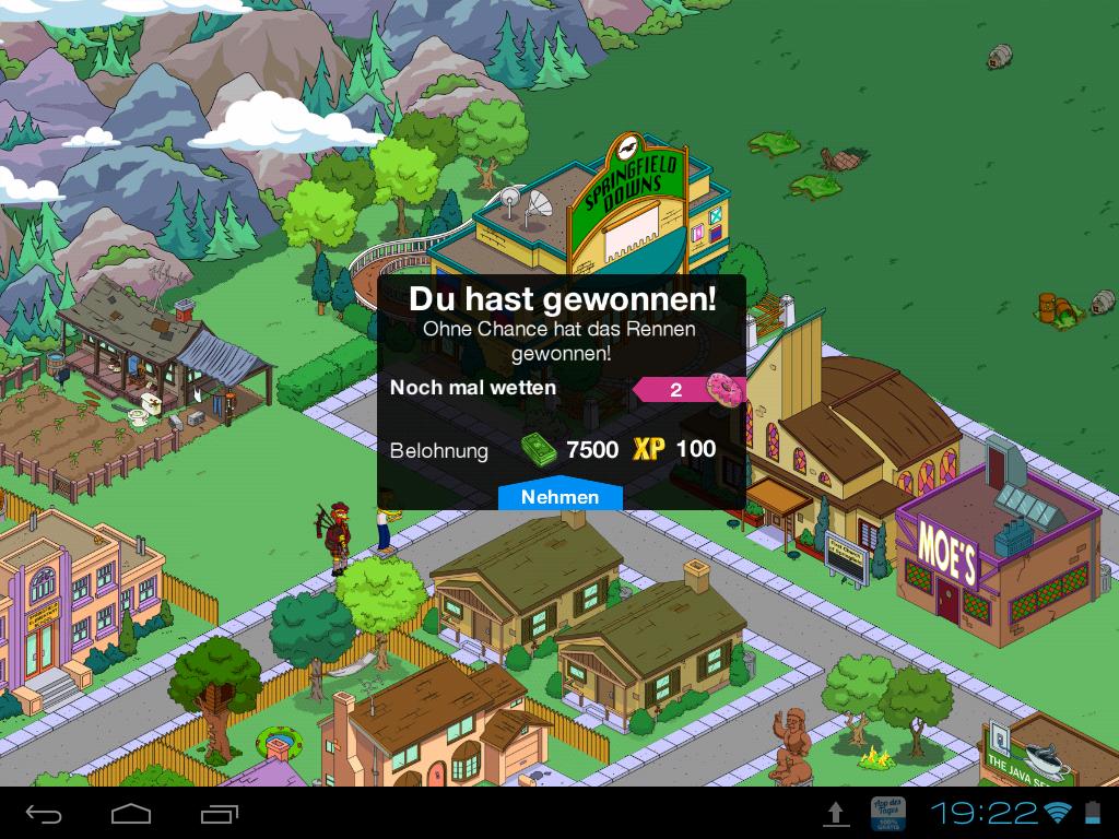 Hunderennen Wette Springfield