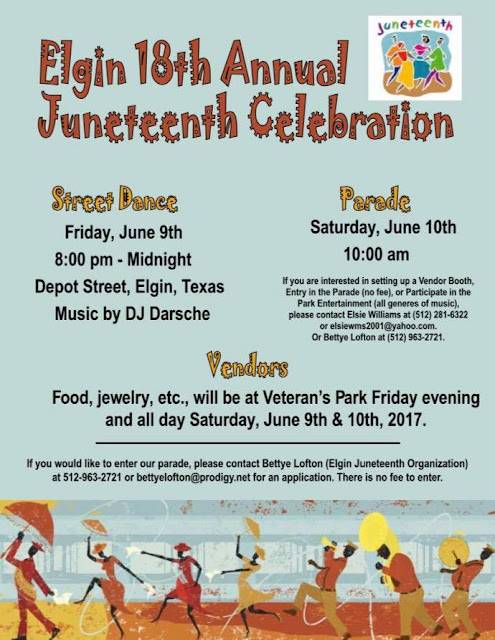 Juneteenth Celebration in Elgin, TX