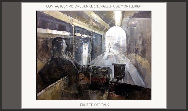 FUNDACIO PERELLO-BELLPUIG-PREMI-BELLES ARTS-SANT JORDI-PINTURA-CREMALLERA-MONTSERRAT-ARTISTA-PINTOR-ERNEST DESCALS