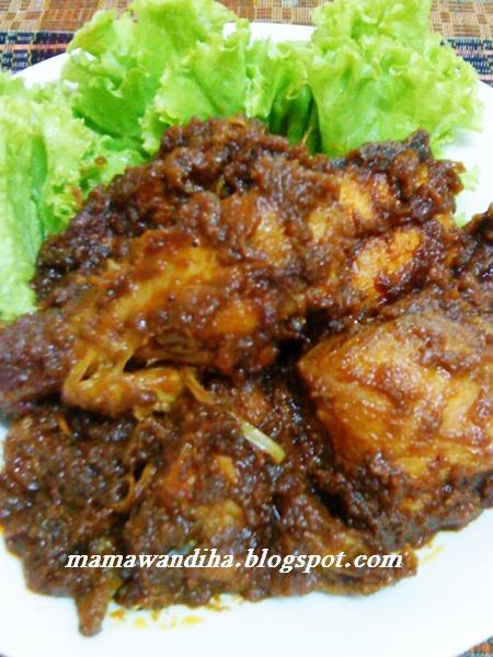 Ayam Masak Kicap Berempah Mamak Penang