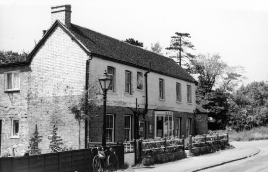 Photograph of Bell Bar Stores June 1962, photograph by Ron Kingdon, digitised by Mike Allen