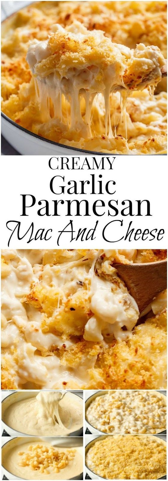 ★★★★☆ 7561 ratings | creamy garlic parmesan mac and cheese #HEALTHYFOOD #EASYRECIPES #DINNER #LAUCH #DELICIOUS #EASY #HOLIDAYS #RECIPE #creamy #garlic #parmesan #mac #cheese