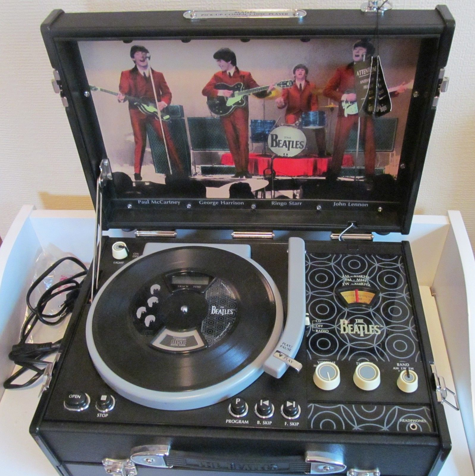 The Daily Beatle The Beatles Pick Up Cd Player And Radio