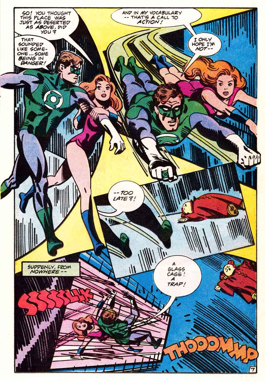 Green Lantern v2 #171 dc comic book page art by Alex Toth