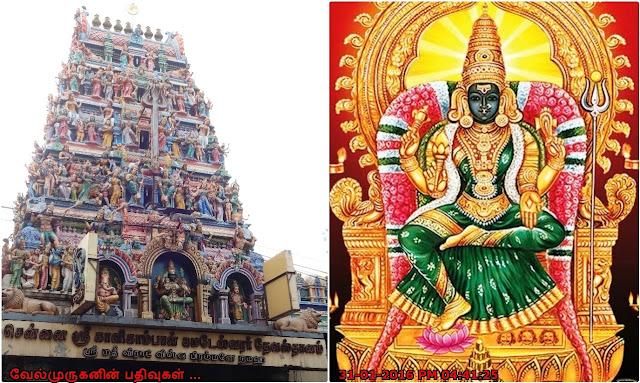 Chennai Kalikambal Temple