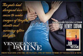 Meet Kat Henry Doran and Read About VENGEANCE IS MINE, her Contemporary Romantic Trilogy