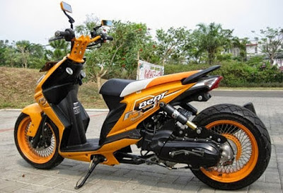 Modifikasi Motor Honda Beat Ganti Stang
