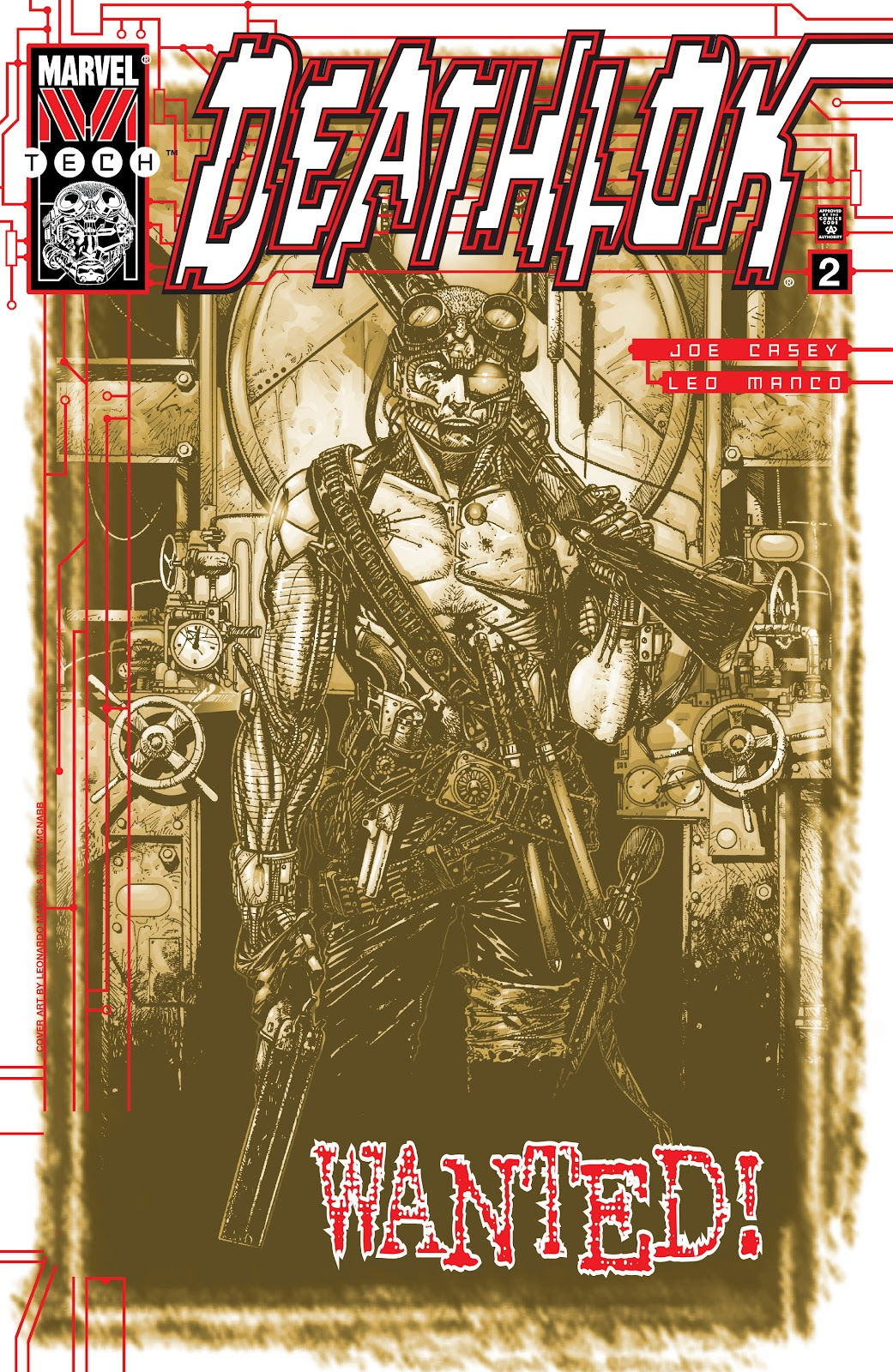 Deathlok (1999) issue 2 - Page 1