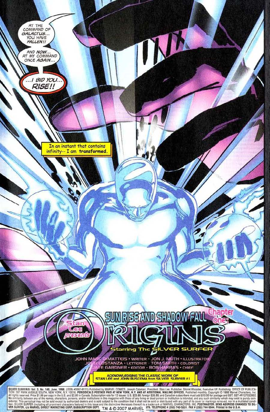 Read online Silver Surfer (1987) comic -  Issue #140 - 5