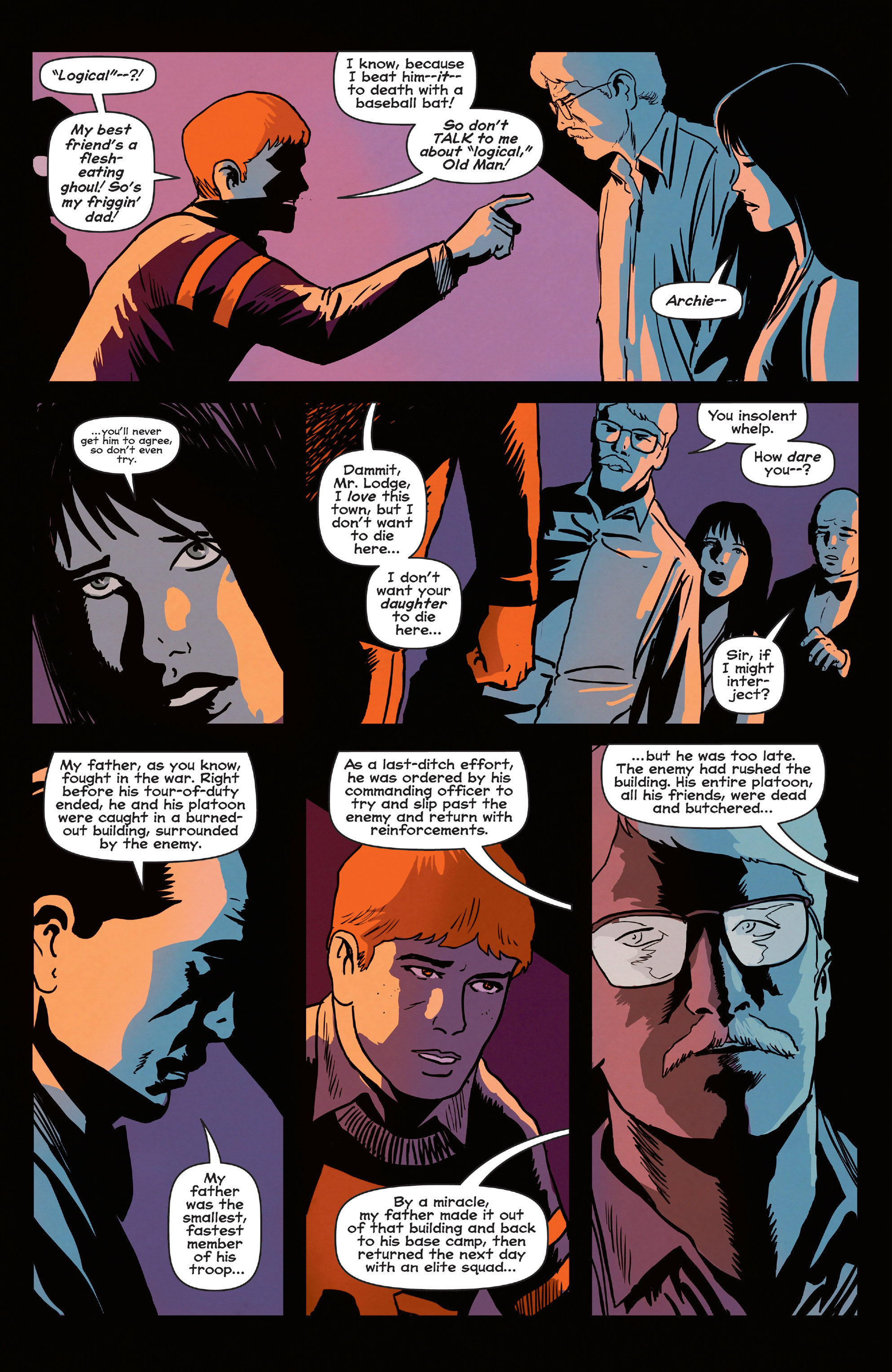 Read online Afterlife with Archie comic -  Issue #5 - 19