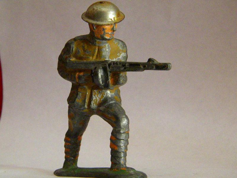 vintageleadsoldiers: Great figure of the week barclay ww1