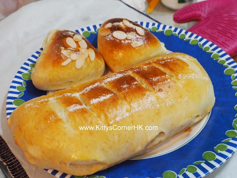 Honey Apple Roll DIY recipe 蜜糖蘋果卷 自家烘焙食譜