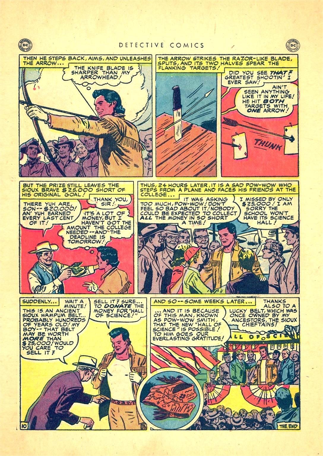Read online Detective Comics (1937) comic -  Issue #166 - 48