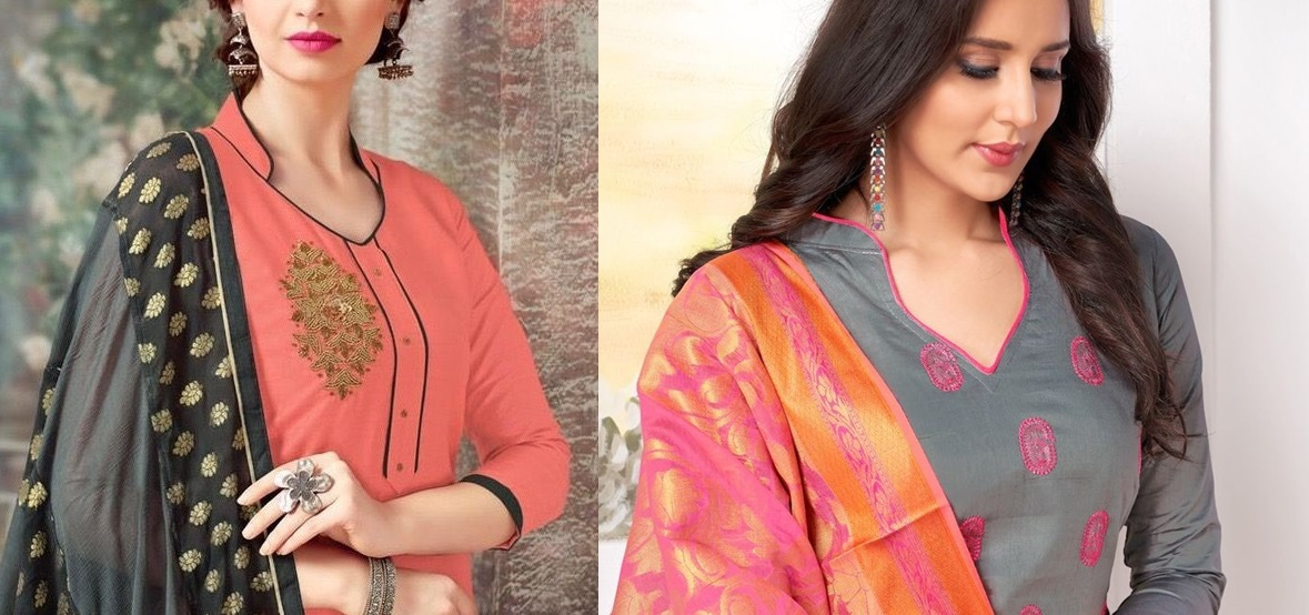 61 Trendy Churidar Neck Designs To Try In 2019 Salwar Suit Neck