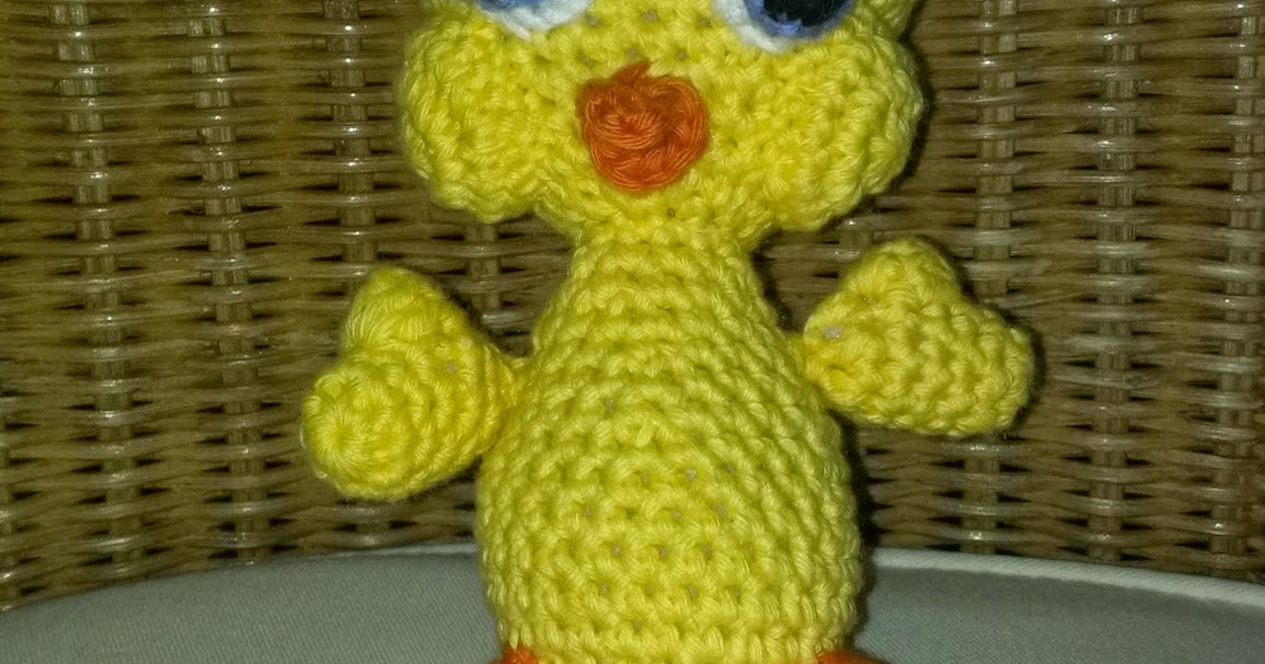 Zan Crochet: Tweety Curtain Tie Back | 606x1155
