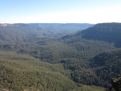 Valle Jamison desde Rocket Point. Blue Mountains. Sydney