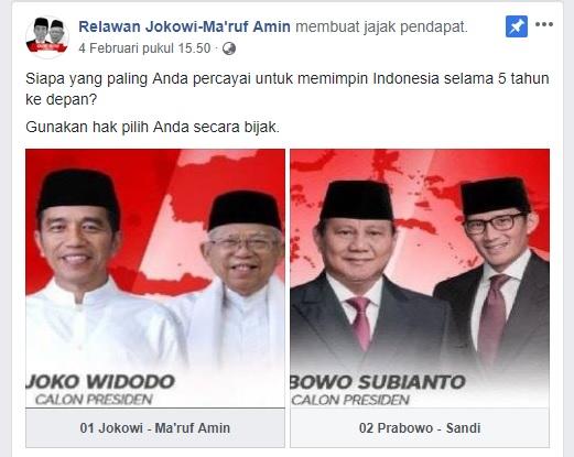 """Jokowi - Ma'ruf Kalah Telak Polling di """"Kandang Sendiri"""", Ini Faktanya!"""