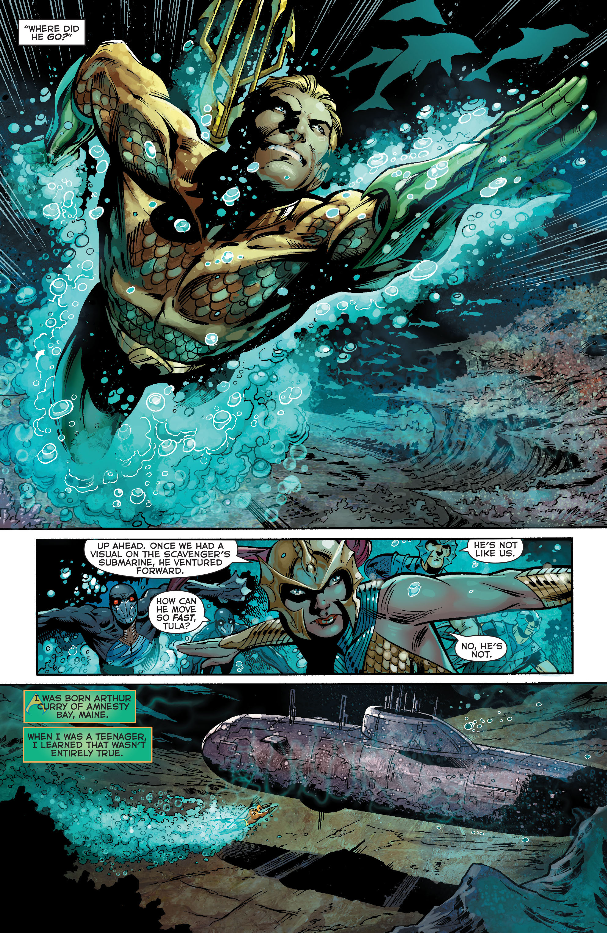 Read online Aquaman (2011) comic -  Issue #21 - 5