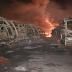 EXTRA: Infierno en Puerto Ordaz - Terroristas de oposición en Venezuela prenden fuego a 51 Buses de TransBolívar atentando contra miles de pasajeros
