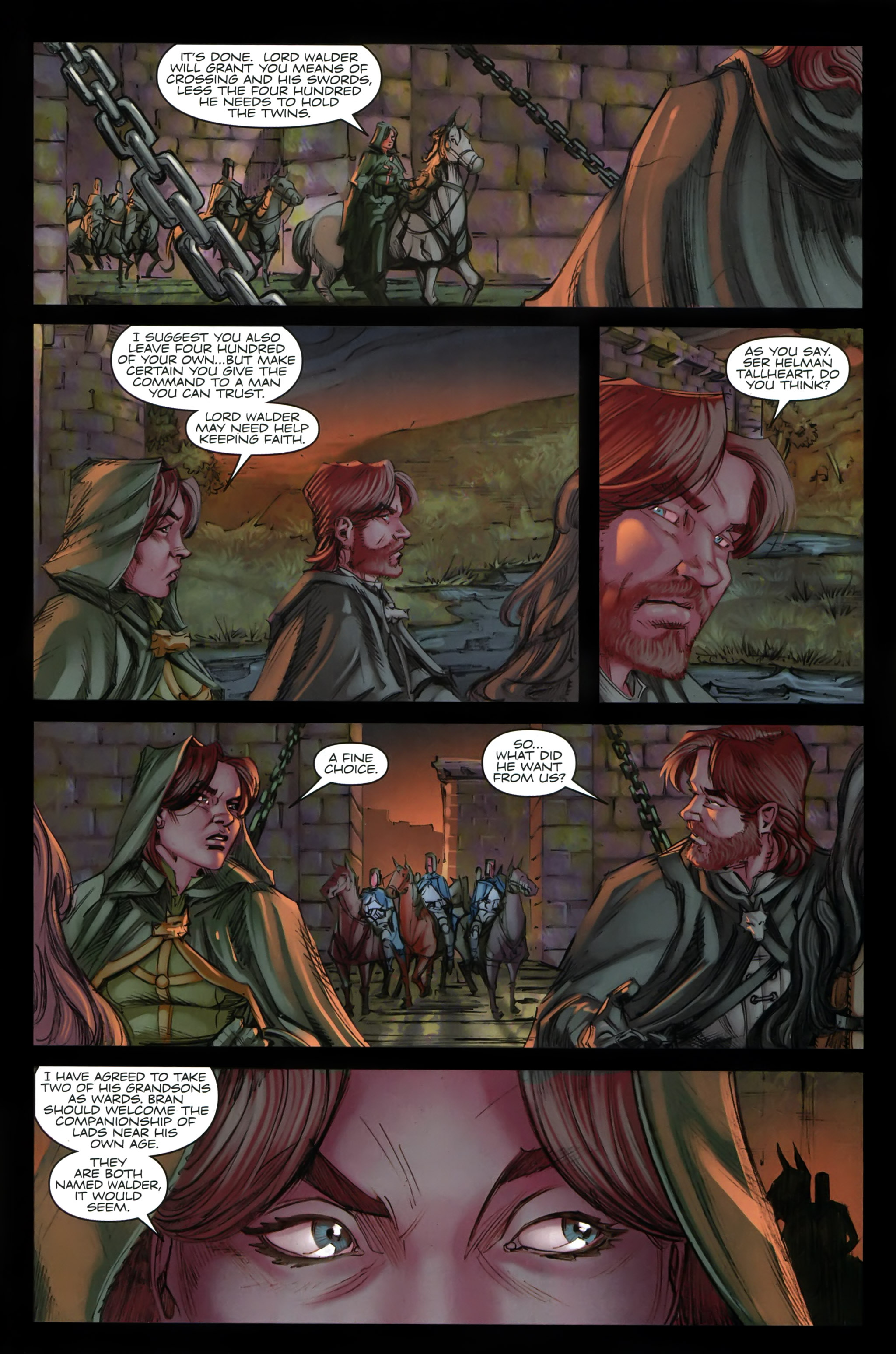 Read online A Game Of Thrones comic -  Issue #19 - 28