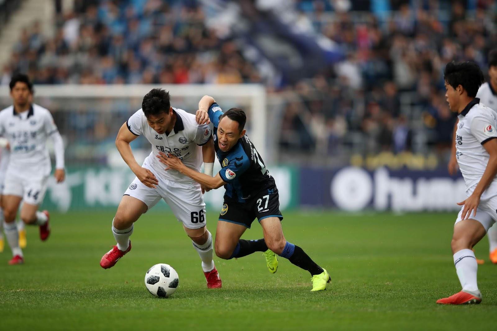 Interview: Daegu FC Defender Park Byung-hyun