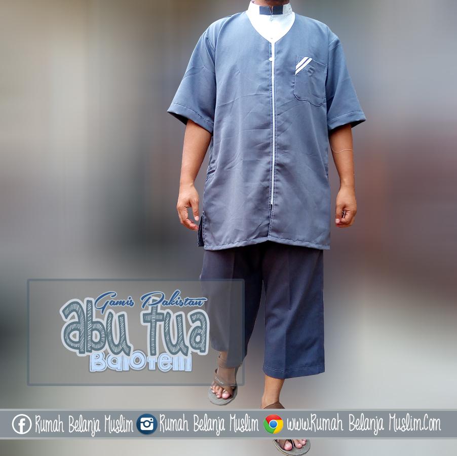 Baju Muslim Pria Kain Balotelli