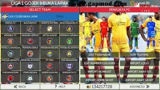 FTS 18 Mod Sriwijaya FC by Reksi Apk + Data Obb